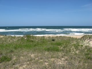 Kill Devil Hills cottage photo - Enjoy your oceanviews from this oceanfront cottage