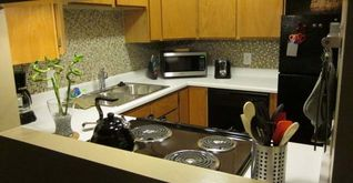 Salt Lake City condo photo - Beautiful, mosaic tiled kitchen with new appliances.