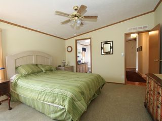 Rehoboth Beach house photo - Master bedroom has private bath and walk in closet