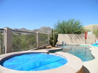 Marana house photo - great view of pool and tortalita mountains