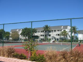 Sanibel Island condo photo - Two Tennis Courts just outside your door
