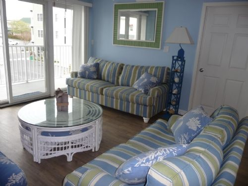 Bel Mare 103 - Just lovely. Decorator furnishings, outdoor pool, and close to beach and boardwalk!