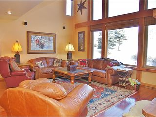 Big Sky townhome photo - Great Natural Light & 20+ Foot Vaulted Ceilings