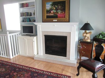 Fireplace in Great Room Upstairs