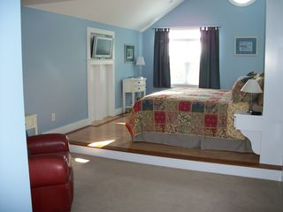 Master Bedroom- king size bed - Pocasset house vacation rental photo