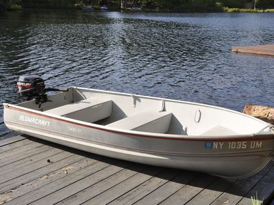 Edwards cabin rental - Motorboat for Cruising and Fishing.