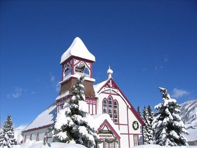 Union Congregational Church in Crested Butte