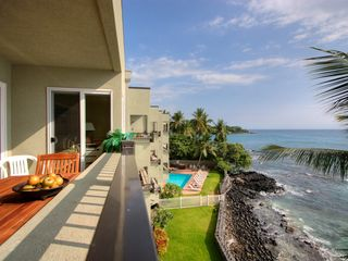 Kailua Kona condo photo - Southern View From The Lanai