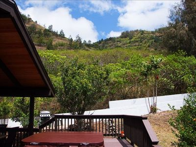 Hawaii Kai cottage rental - The cottage location and amenites are amazing! Views of the mountains