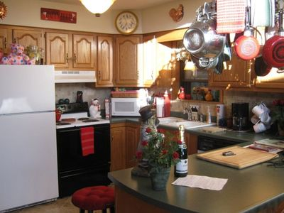 Bryson City cabin rental - Whether you cook in .... or go out, you'll love the kitchen!
