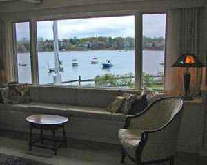 Orleans house photo - Sit and relax, watch the boats travel by...