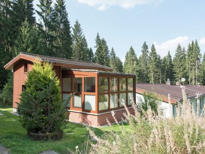 Beautiful detached holiday home in the Ore Mountains with a large garden and a swimming pool