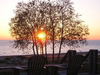 Shelby cottage photo - Enjoy sunsets from the deck