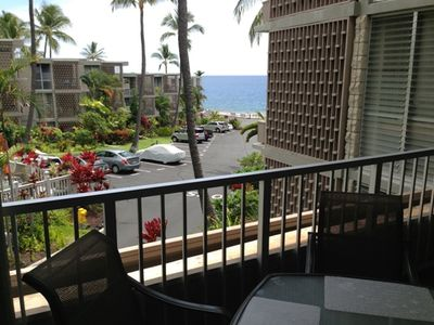 Ocean View - Ocean view from the lanai.