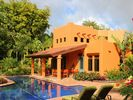Villa Baha features private pool with lap lane and graceful, wide Baja steps - Dominical villa vacation rental photo