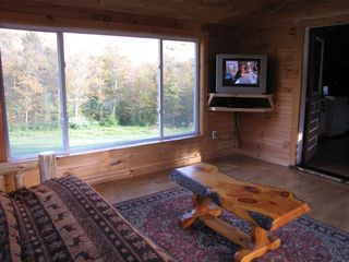 Jay Peak house photo - Satellite tv and DVD to watch a movie or enjoy a football game!