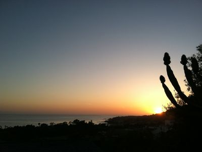 Summer sunset over Laguna Beach  (Panoramic part 2)