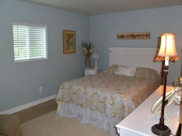 Queen Bed Room located downstairs