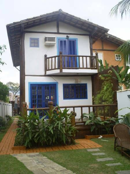 BEAUTIFUL HOUSE WITH AIR CONDITIONING, POOL AND BARBECUE IN PEREQUÊ - ILHABELA