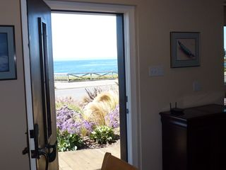 Santa Cruz house photo - View out the front door. Come on in!