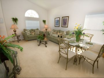 Formal Dining and Living Area