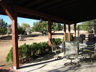 Yucca Valley house photo - View out front off large porch