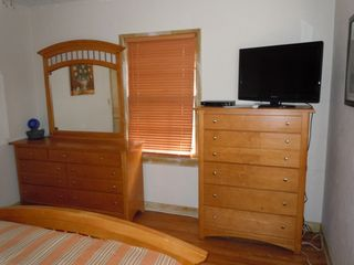 Lake Worth house photo - Master bedroom also has 32in TV with DirecTV and Movie Channels