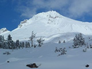 Government Camp lodge photo - Mt Hood Winter