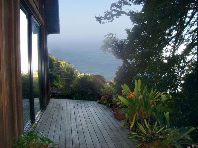 Big sur mountain retreat vacation cabin for rent in big for Big sur cabin