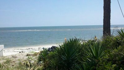 View of the beach and Gulf!