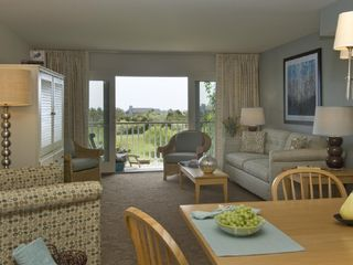 Edgartown hotel photo - Our 1-bedroom suite features a living/dining area.
