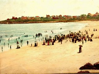 York Beach house photo - Short Sands Beach Circa 1900