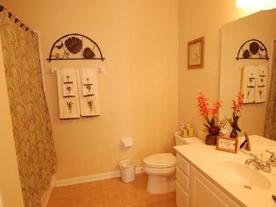 Charming second bathroom