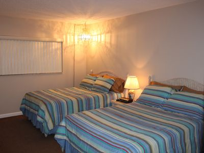 Madeira Beach condo rental - Two full-size beds with new mattress sets