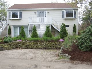 Provincetown house photo - Well manacured lawn and garden!
