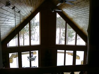 Crosslake cabin photo - View from the loft