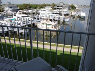 Vero Beach condo photo - Balcony direct harbor front view