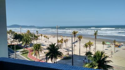 Facing the sea with comfortable and spacious 2 bedroom apartment balcony