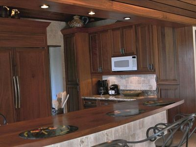 Brand new custom Mahogany kitchen