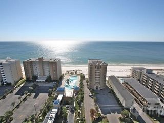 Gulf Shores condo photo - View across the street of Crystal Tower pool area