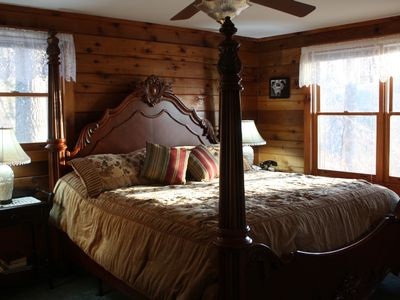 Boone cabin rental - Heavenly King Size Bed