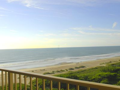 Direct Oceanfront view from private balcony