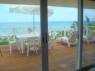 Cayman Brac house photo - dine & relax on the spacious deck