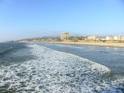 NORTH VIEW TOWARDS LAJOLLA FROM PIER