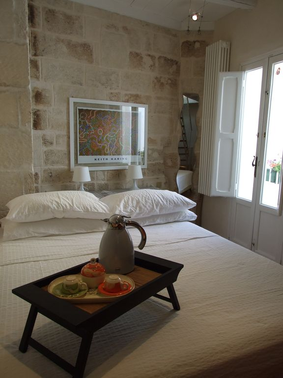 Typical historical apartment in Monopoli