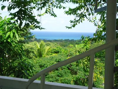 Ocean Views from the Balcony