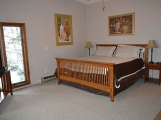 North Conway house photo - Master Bedroom with King Size Bed