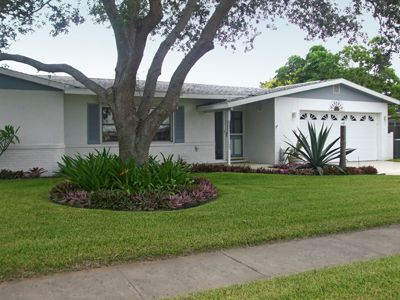 Merritt Island house rental - Lovely landscaping and quiet neighborhood.