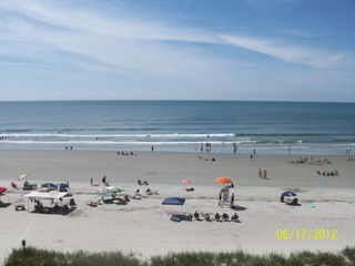 Cherry Grove Beach condo photo - The view from the balcony