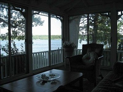 Gorgeous lake views and beautiful sunrises from the wraparound porch!